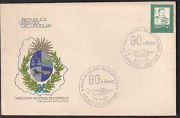 Uruguay - 1987 - Cachets Spéciaux - FDC - Banda Municipal De Montevideo - A1RR2 - Vela