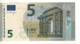 "5 EURO  ""Austria""   DRAGHI    N 018 C4.  NB4318156512   /  FDS - UNC - EURO"