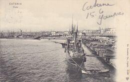 Cartolina - Catania, Porto. - Catania