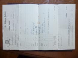 GREAT BRITAIN DOCUMENT ST ALBAN SCHOOL MARK SHEET 1940 - Ver. Königreich