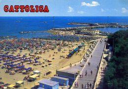 Cattolica - La Spiaggia - Formato Grande Viaggiata – E 17 - Rimini