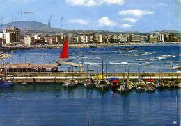 Cattolica - Panorama E R.s.marino - Formato Grande Viaggiata Mancante Di Affrancatura – E 17 - Rimini