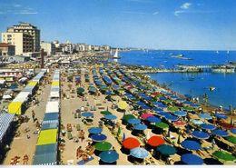 Cattolica - Particolare Di Spiaggia - Formato Grande Viaggiata – E 17 - Rimini