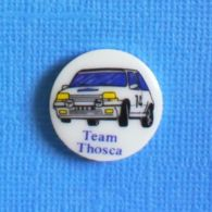 1 PIN'S //  ** RENAULT 5 GT TURBO / TEAM THOSCA ** - Rally