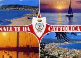 Saluti Da Cattolica - Formato Grande Viaggiata – E 17 - Rimini