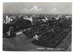 7098 - LADISPOLI ROMA GIARDINI E PANORAMA 1950 CIRCA - Autres Villes