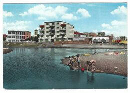 7099 - LADISPOLI ROMA SPIAGGIA ANIMATA 1960 CIRCA - Autres Villes