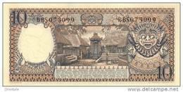 INDONESIA P.  56 10 R 1958 UNC - Indonesien