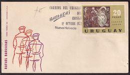 Uruguay - 1972 - Cachets Spéciaux - FDC - Peintres Uruguayens - Rafael Barradas - A1RR2 - Other