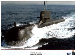 (I 18) Australian Navy Submarine HMAS Rankin + Tanker Success (+ Bonus Sticker HMAS Leewin) 3 Items - Boats