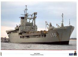 (I 18) Australian Navy Submarine HMAS Tobruk & Melbourne (2 Items) - Boats