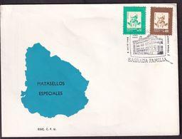Uruguay - 1989 - FDC - Cachets Spéciaux - 100 Años Del Colegio Liceo Sagrada Familia - A1RR2 - Uruguay
