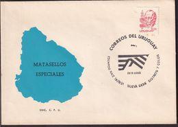 Uruguay - 1983 - Cachets Spéciaux - FDC - Nueva Sede Distrito 7 Colon - A1RR2 - Uruguay