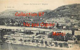 04 ☺♦♦ DIGNE < LE LYCEE Et L'HOPITAL - Digne