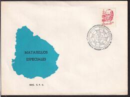 Uruguay - 1986 - Cachets Spéciaux - FDC - 17º Aniversario Embajada De Mujeres De America - A1RR2 - Uruguay