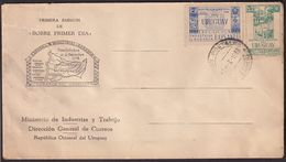 Uruguay - 1948 - FDC - Lettre - Exposicion Industrial Y Agraria - A1RR2 - Uruguay