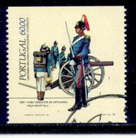 ! ! Portugal - 1985 Military Uniforms - Af. 1685a - Used - 1910-... République