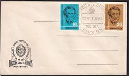 Uruguay - 1962 - Cachets Spéciaux - FDC - Bernardo Prudencio Berro - A1RR2 - Uruguay