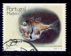 ! ! Portugal - 1989 Fishes - Af. 1906a - Used - 1910-... République
