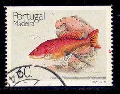 ! ! Portugal - 1989 Fishes - Af. 1907a - Used - 1910-... République