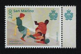 "2020 SAN MARINO ""CAMPIONATO EUROPEO DI CALCIO"" SINGOLO MNH - Saint-Marin"