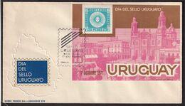 Uruguay - 1972 - FDC - Dia Del Sello Uruguayo - A1RR2 - Uruguay