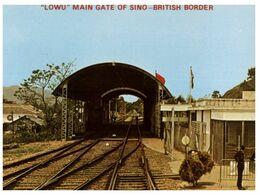 (I 20) China Hong Kong (as Britiah Colony) Border Forbidden Area - China (Hongkong)