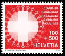 Swiss SWITZERLAND 2020. COVID 19. CORONA. STAMP MNH ** - Enfermedades