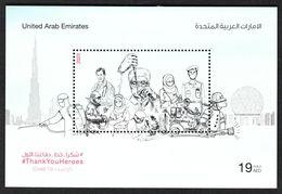 United Arab Emirates / UAE 2020- COVID 19 - Coronavirus Souvenir Sheet MNH - Ver. Arab. Emirate