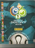 ALBUM PANINI , GERMANY  2006 , COMPLET - Trading Cards