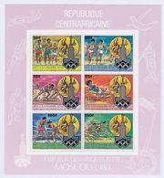 Zentralafrika KLBG 726-731 ** - Central African Republic