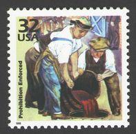 USA 1998 MiNr. 2953 Celebrate The Century Prohibition Enforced Wines & Alcohols Painting Art 1v MNH ** 0,80 € - Vins & Alcools