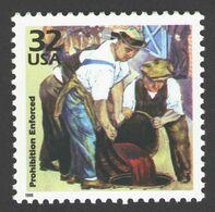 USA 1998 MiNr. 2953 Celebrate The Century Prohibition Enforced Wines & Alcohols Painting Art 1v MNH ** 0,80 € - Neufs