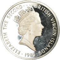 Monnaie, BRITISH VIRGIN ISLANDS, Elizabeth II, Laiton Nocturne, 20 Dollars - Iles Vièrges Britanniques