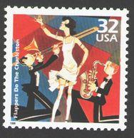 USA 1998 MiNr. 2958 Celebrate The Century Flappers Do The Charleston Dance Music  1v MNH ** 0,80 € - Dance
