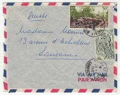 Cameroun // Lettre Pour La Suisse - Kameroen (1960-...)