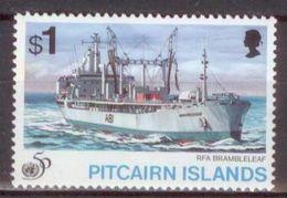 Pitcairn 1995 Mi#466 MNH Cv Eur2.4 Ships - Barche