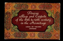 Persia Iran Rug Carpets Miniatures 16 Postcards 1981 у. - Iran