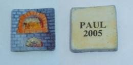 FEVE FOUR DE BOULANGER A BOIS, Signe PAUL 2005 - Fèves