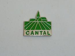 Pin's ASSURANCES MUTUELLES, CANTAL - Banken