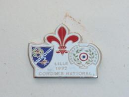 Pin's ANCIENS COMBATTANTS, CONGRES NATIONAL DE LILLE - Armee