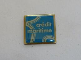 Pin's BANQUE CREDIT MARITIME - Banken