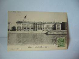 LIÈGE BELGIUM BELGIQUE L'INSTITUT ZOOLOGIQUE CPA 1920 NO 904 G.H. ED .A - Liège