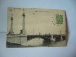 948.LIÈGE BELGIUM BELGIQUE LE PONT DE FRAGNEE  CPA 1920 G.HERMANS ANVERS - Liège