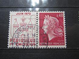 "VEND BEAU TIMBRE DE FRANCE N° 1643 , OBLITERATION "" GRENOBLE-GARE "" !!! - 1967-70 Marianne De Cheffer"