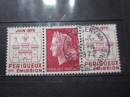 """VEND BEAU TIMBRE DE FRANCE N° 1643 , OBLITERATION """" ST-SERVAN """" !!! - 1967-70 Marianne De Cheffer"""