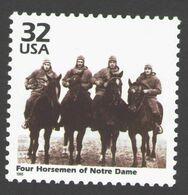 USA 1998 MiNr. 2962 Celebrate The Century Four Horseman Of Notre Dame Sport American Football 1v MNH ** 0,80 € - Rugby