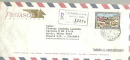 CARTA  REGISTERED  1967 - Venezuela