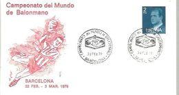 POSTMARKET ESPAÑA  1979 - Handball