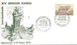POSTMARKET  ESPAÑA  1975 - Tramways